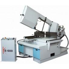 KS 600 Полуавтоматический ленточнопильный станок