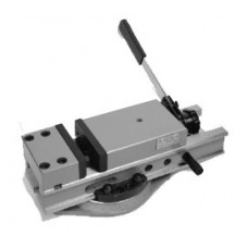 Тиски станочные стальные поворотные с ручным приводом (ширина губок 125 -200 мм.)
