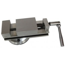 Тиски станочные стальные поворотные с ручным приводом (ширина губок 80 - 100 мм.)