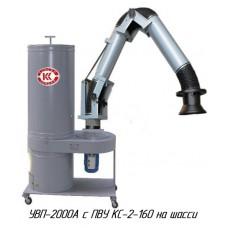 УВП-2000АК с ПВУ Установка вентиляционная пылеулавливающая